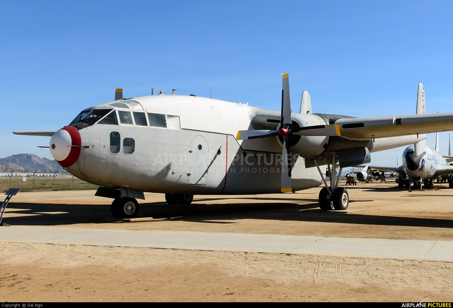 N9081 - Private Fairchild C-119 Flying Boxcar at March ...