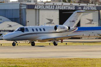 LV-AMB - Private Cessna 525 CitationJet