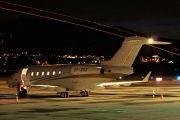 SP-ZSZ - Blue Jet Bombardier BD-100 Challenger 300 series aircraft