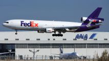 N580FE - FedEx Federal Express McDonnell Douglas MD-11F aircraft