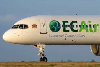 HB-JJE - EC Air - Equatorial Congo Airlines Boeing 757-200