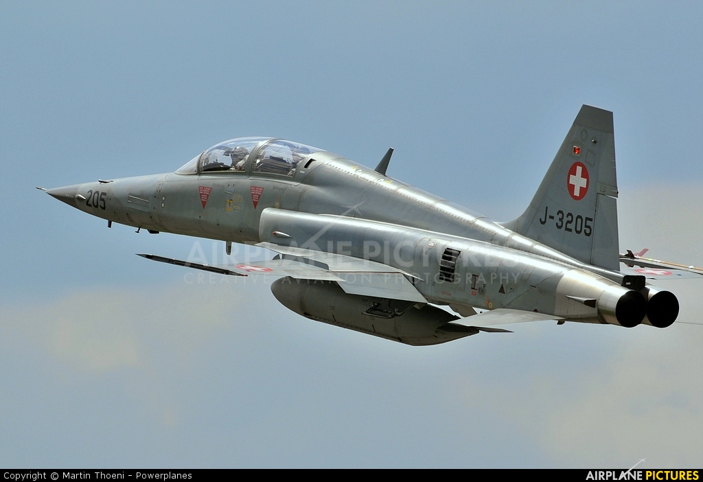 Switzerland - Air Force J-3205 aircraft at Payerne