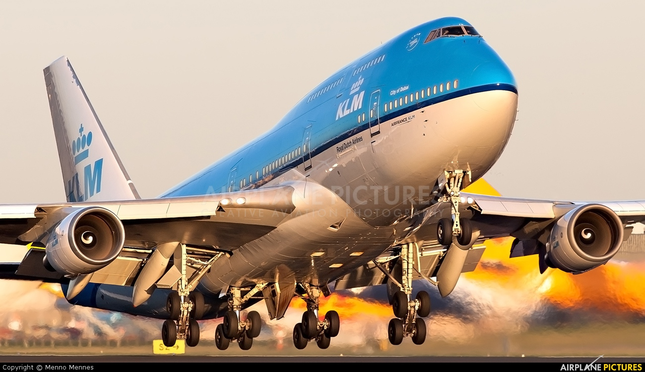 KLM PH-BFD aircraft at Amsterdam - Schiphol