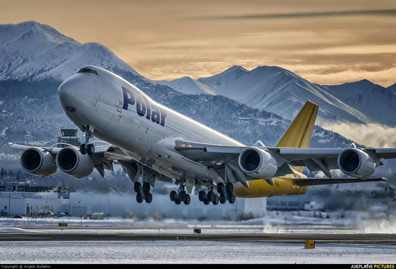 Polar Air Cargo N853GT aircraft at Anchorage - Ted Stevens Intl / Kulis Air National Guard Base