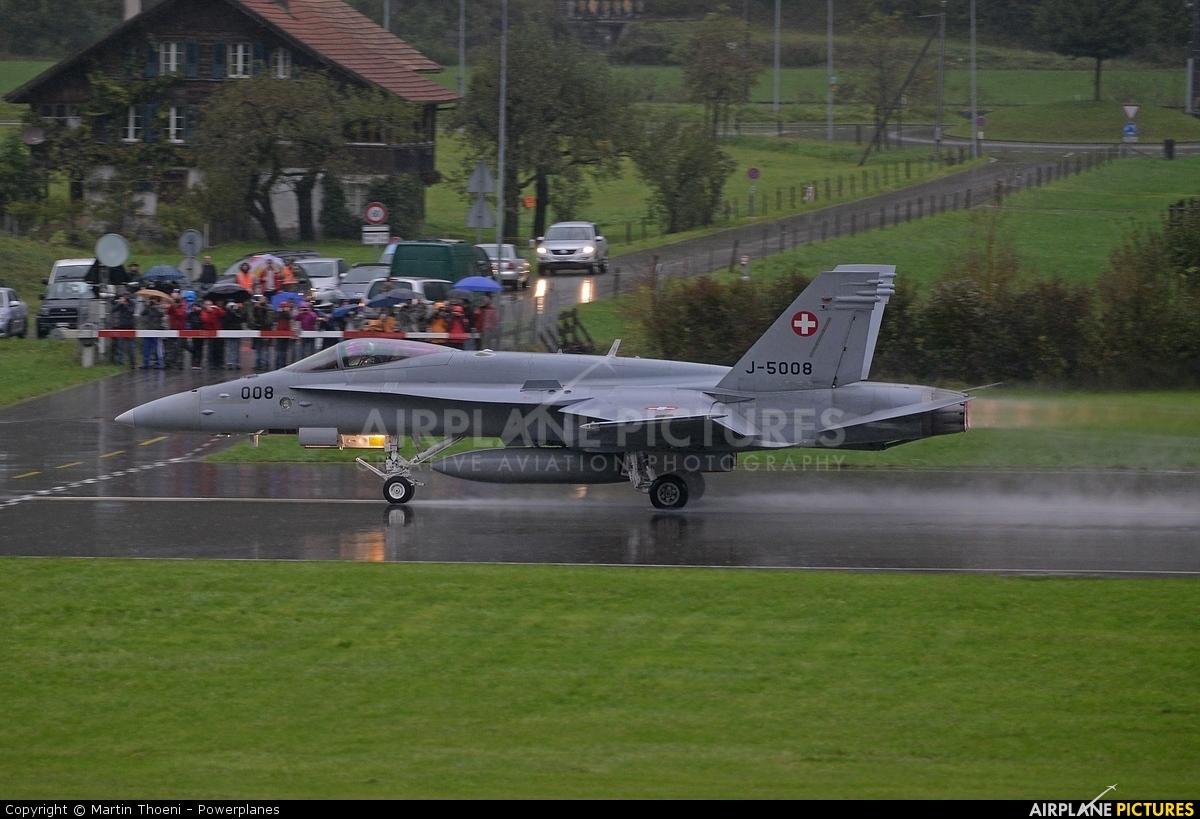 Switzerland - Air Force J-5008 aircraft at Meiringen