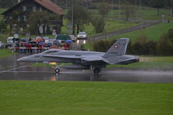 J-5008 - Switzerland - Air Force McDonnell Douglas F/A-18C Hornet