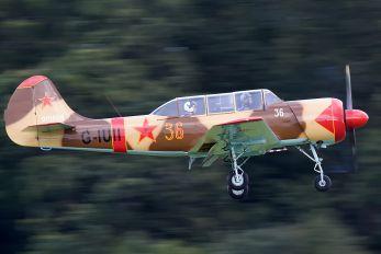G-IUII - Private Aerostar SA Yak 52