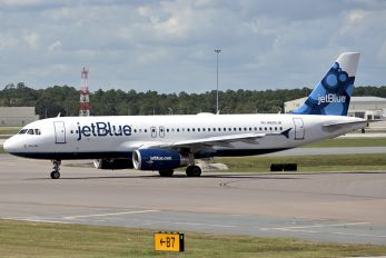 N665JB - JetBlue Airways Airbus A320