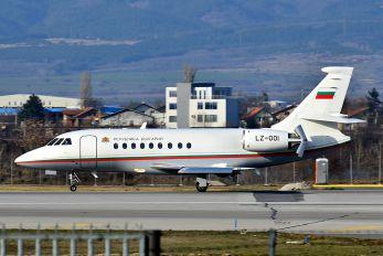 LZ-001 - Bulgaria - Government Dassault Falcon 50