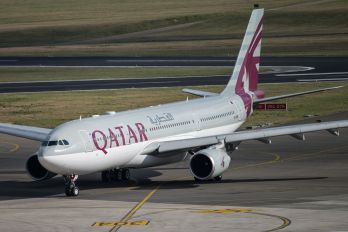 A7-AFM - Qatar Airways Airbus A330-200