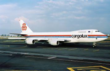 LX-ACV - Cargolux Boeing 747-200F