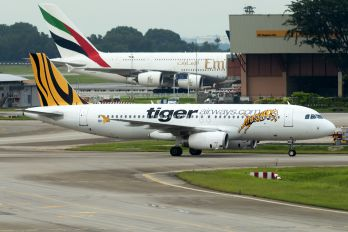 9V-TRH - Tiger Airways Airbus A320