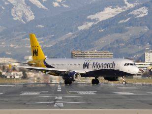 G-MARA - Monarch Airlines Airbus A321