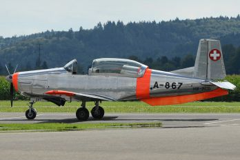 HB-RCD - Private Pilatus P-3