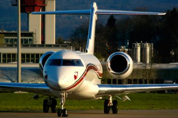 LX-AAA - Global Jet Luxembourg Bombardier BD-700 Global Express