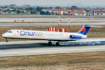 TC-ONR - Onur Air McDonnell Douglas MD-88