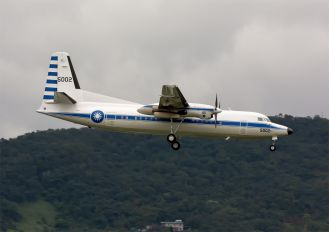 5002 - Taiwan - Air Force Fokker 50
