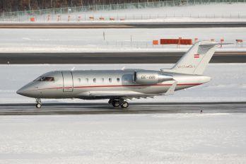 OE-INM - Vistajet Canadair CL-600 Challenger 605