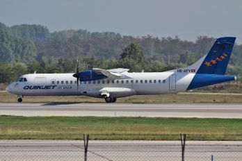 HB-AFV - Quikjet India ATR 72 (all models)