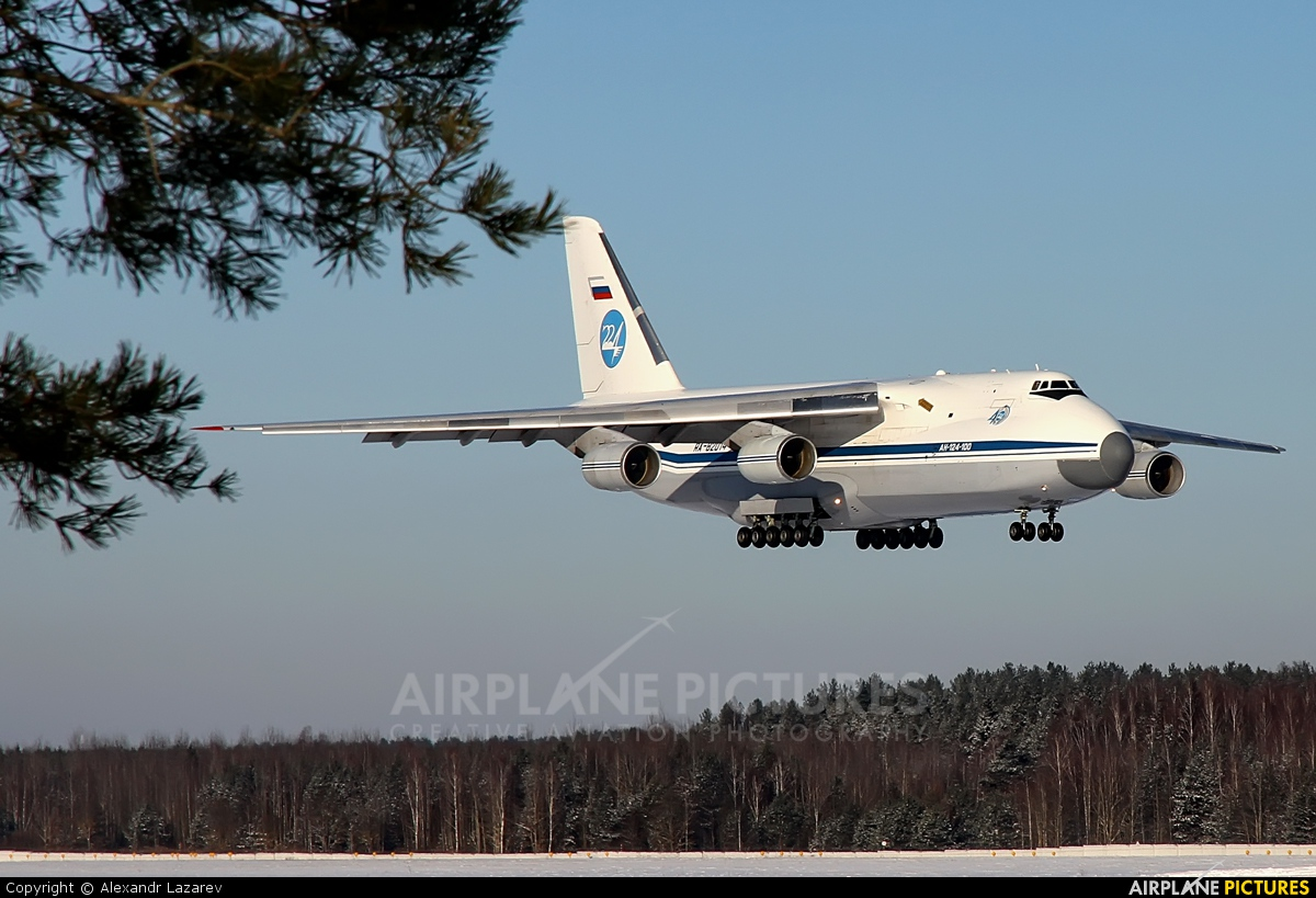 Russia - Air Force RA-82014 aircraft at Minsk Intl