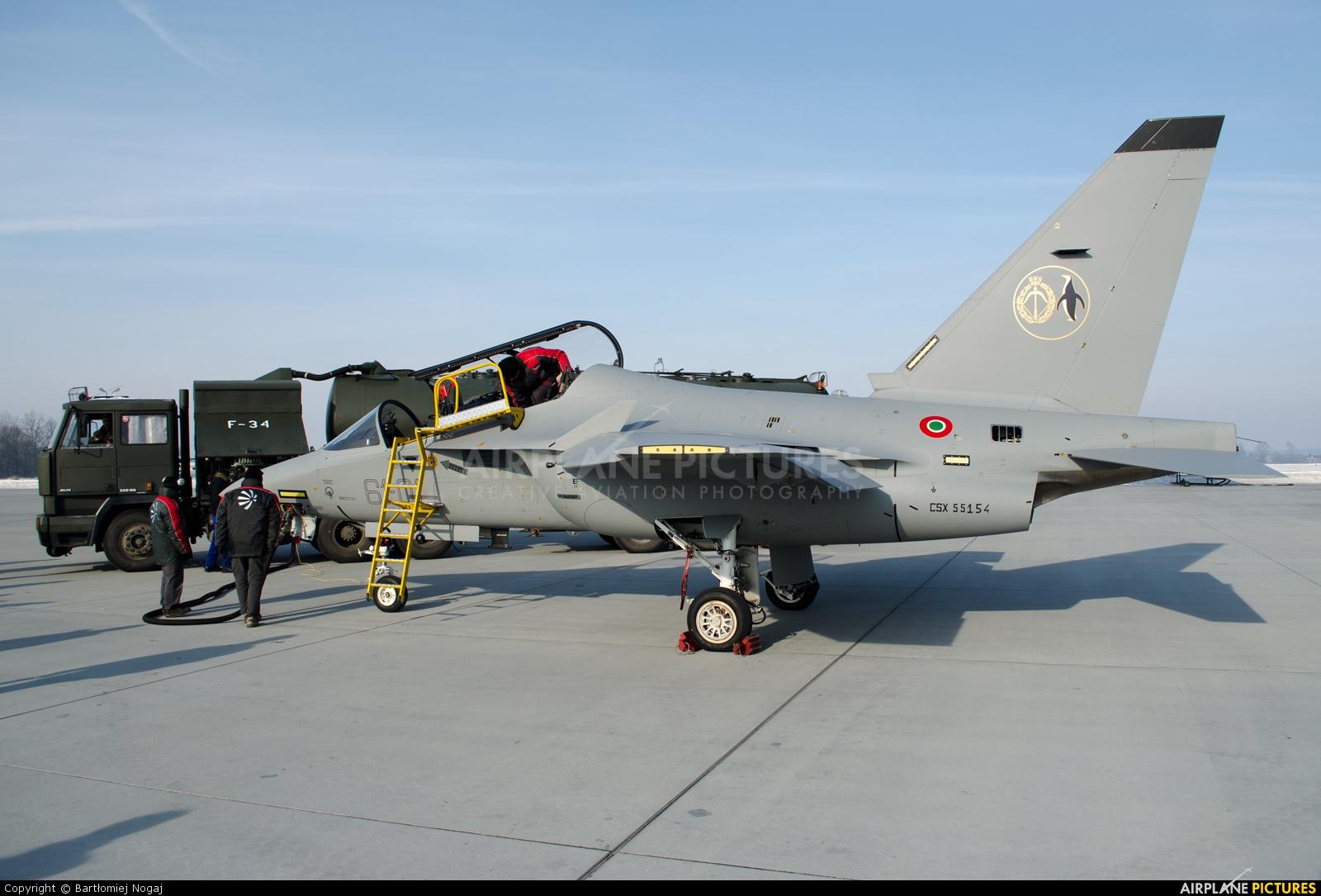 Italy - Air Force CSX55154 aircraft at Dęblin