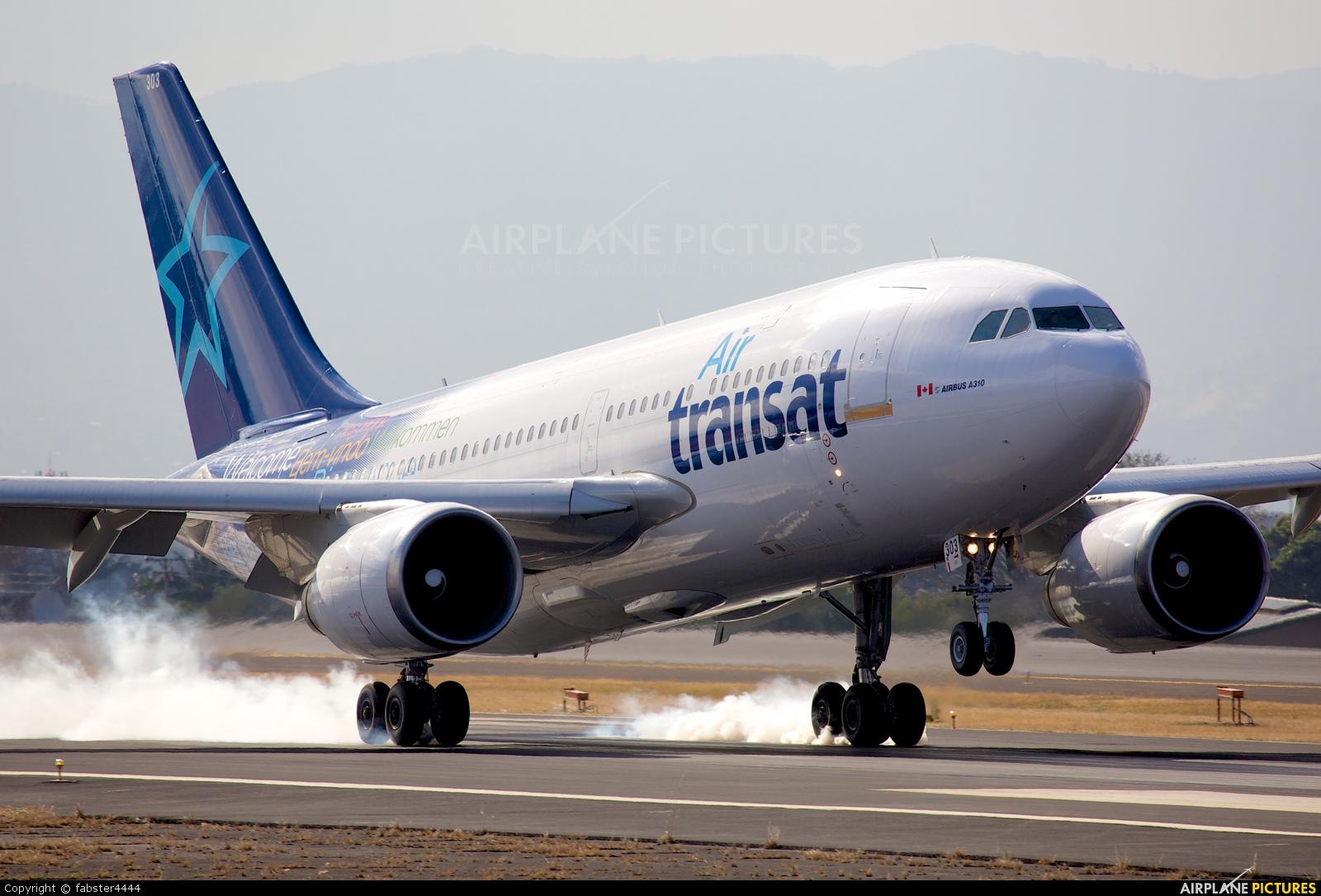 Air Transat C-GPAT aircraft at San Jose - Juan Santamaría Intl