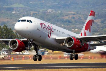 C-FYJH - Air Canada Rouge Airbus A319