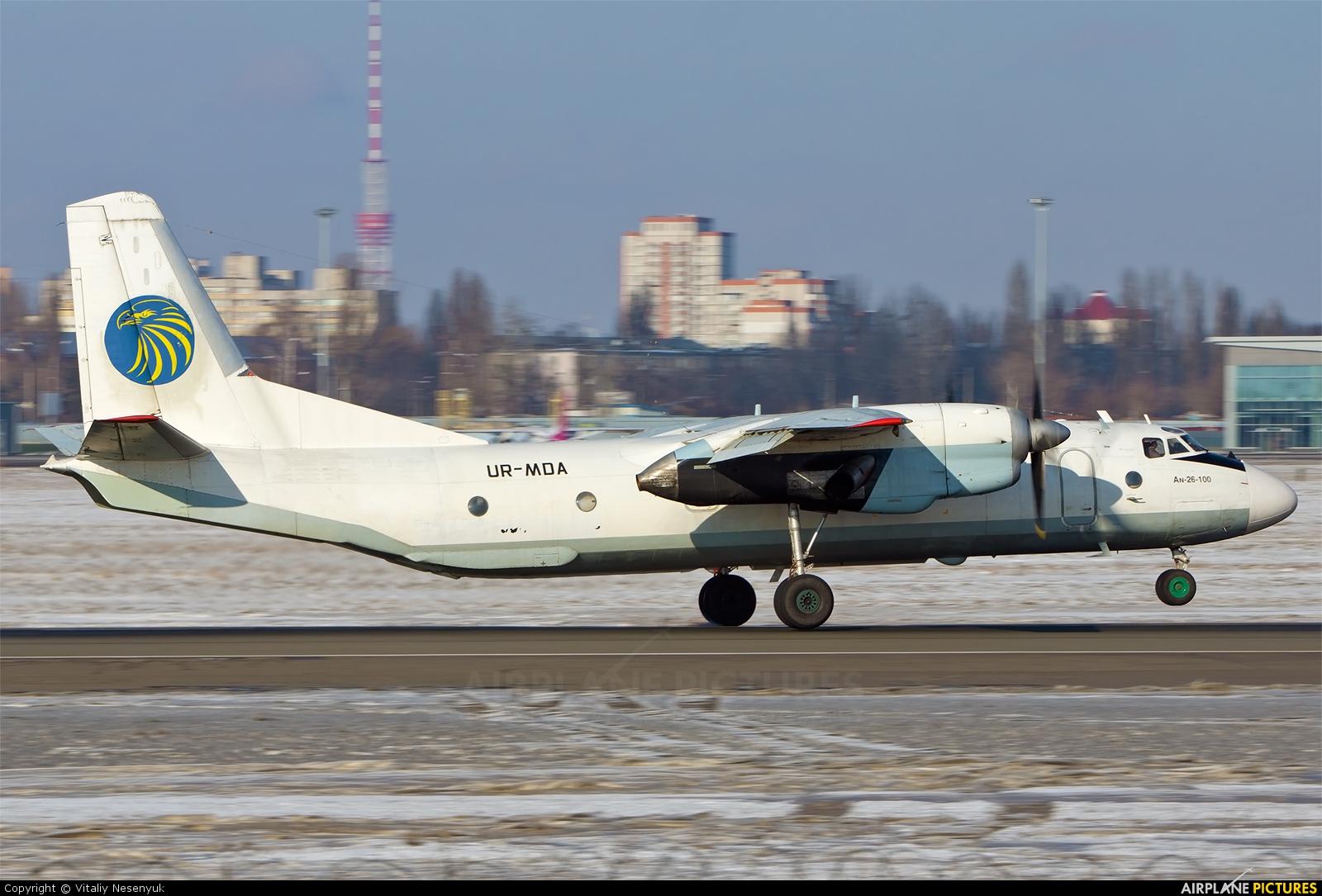 Meridian Airlines UR-MDA aircraft at Kiev - Zhulyany
