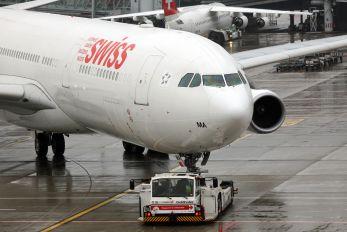 HB-JMA - Swiss Airbus A340-300