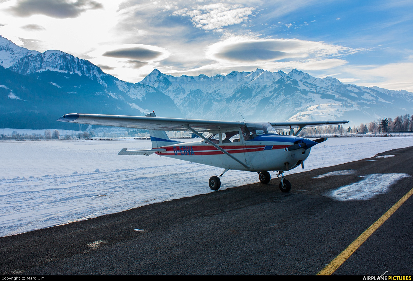 Private D-EBVA aircraft at Zell am See