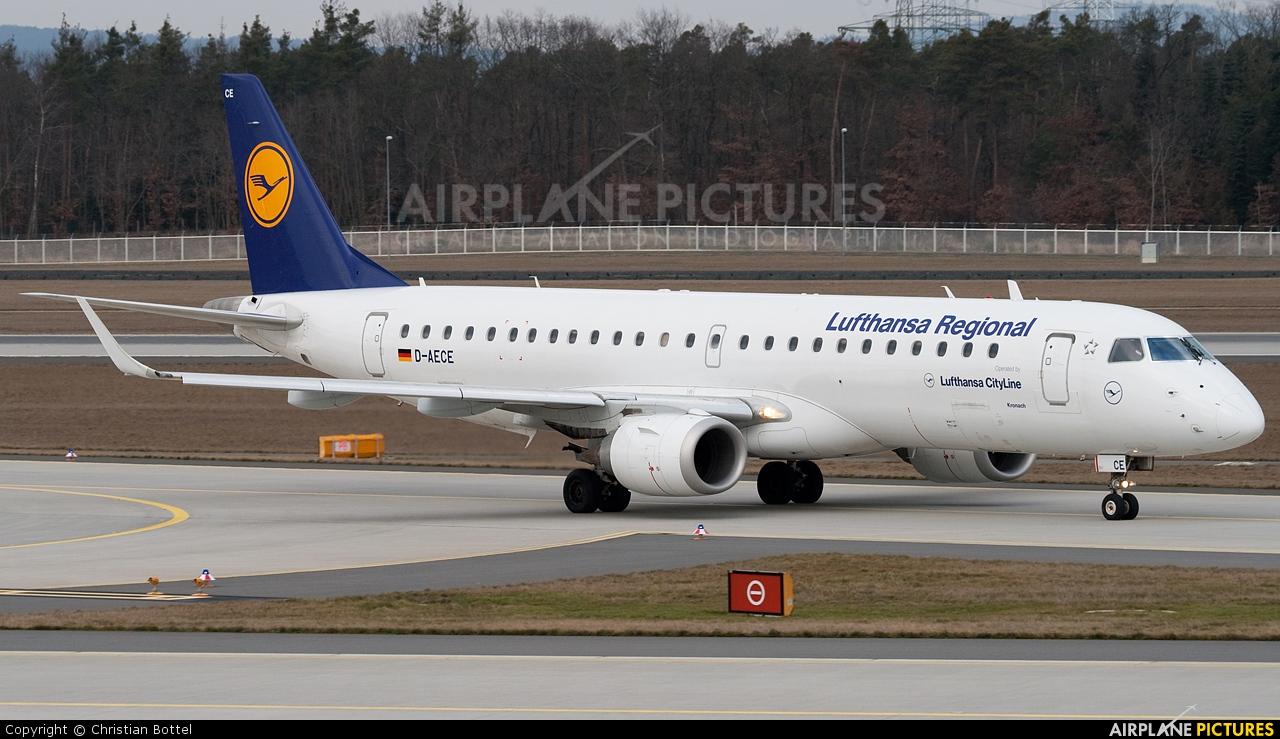 Lufthansa Regional - CityLine D-AECE aircraft at Frankfurt
