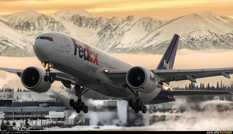 FedEx Federal Express N852FD aircraft at Anchorage - Ted Stevens Intl / Kulis Air National Guard Base