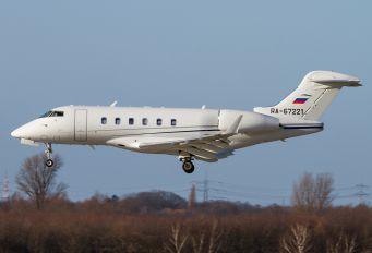 RA-67221 - Tatarstan Bombardier BD-100 Challenger 300 series