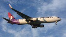 N581HA - Hawaiian Airlines Boeing 767-300ER aircraft