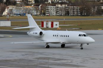 OY-SNK - Air Alsie Dassault Falcon 2000LX