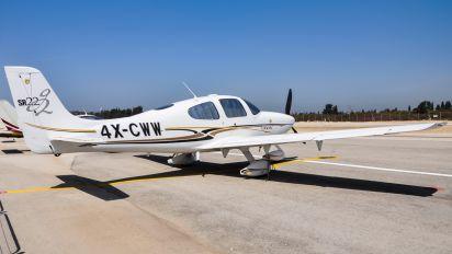 4X-CWW - Private Cirrus SR22