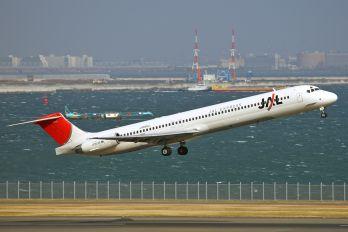 JA8552 - JAL - Express McDonnell Douglas MD-81