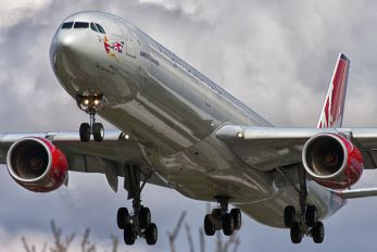 G-VGAS - Virgin Atlantic Airbus A340-600