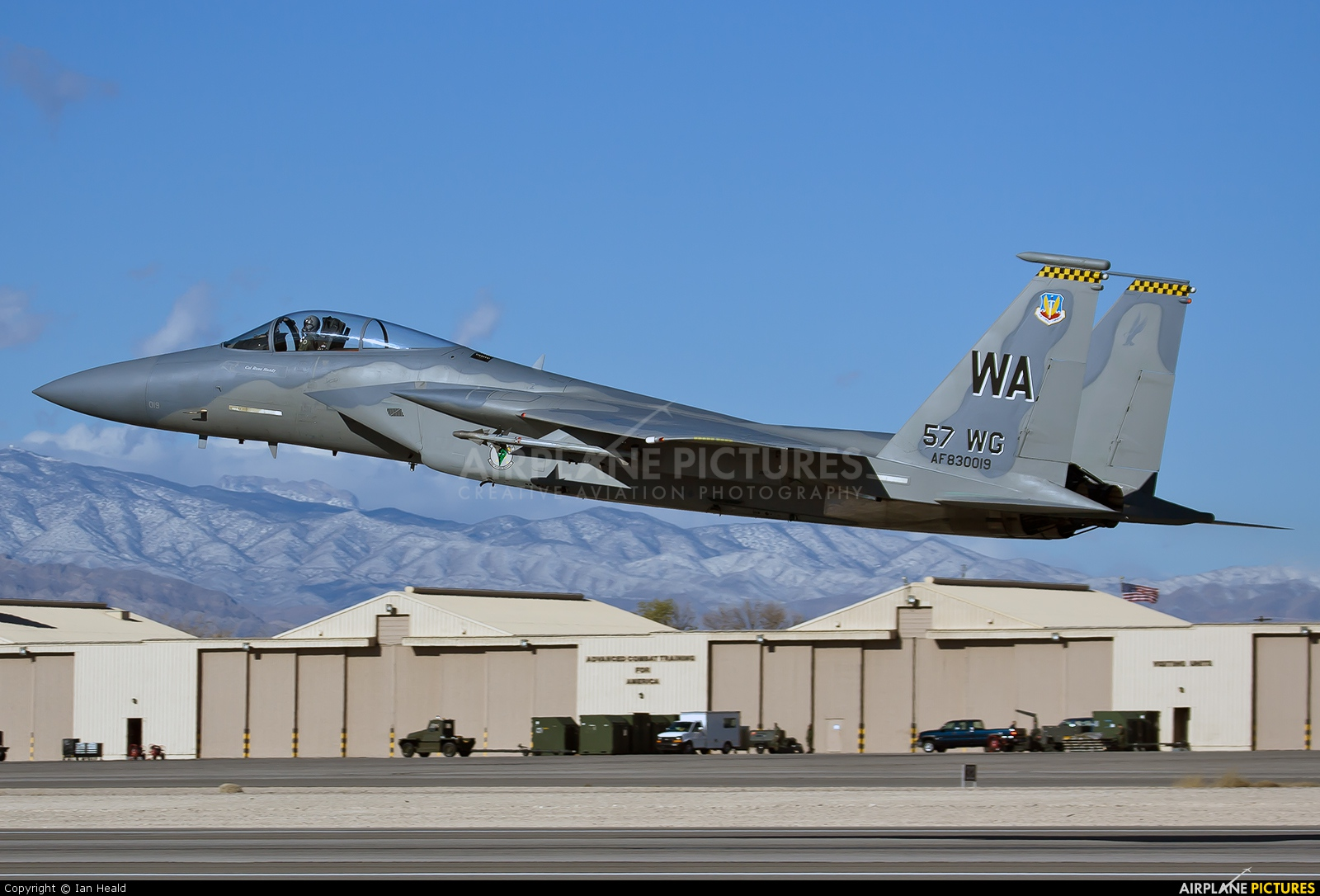 USA - Air Force 83-0019 aircraft at Nellis AFB