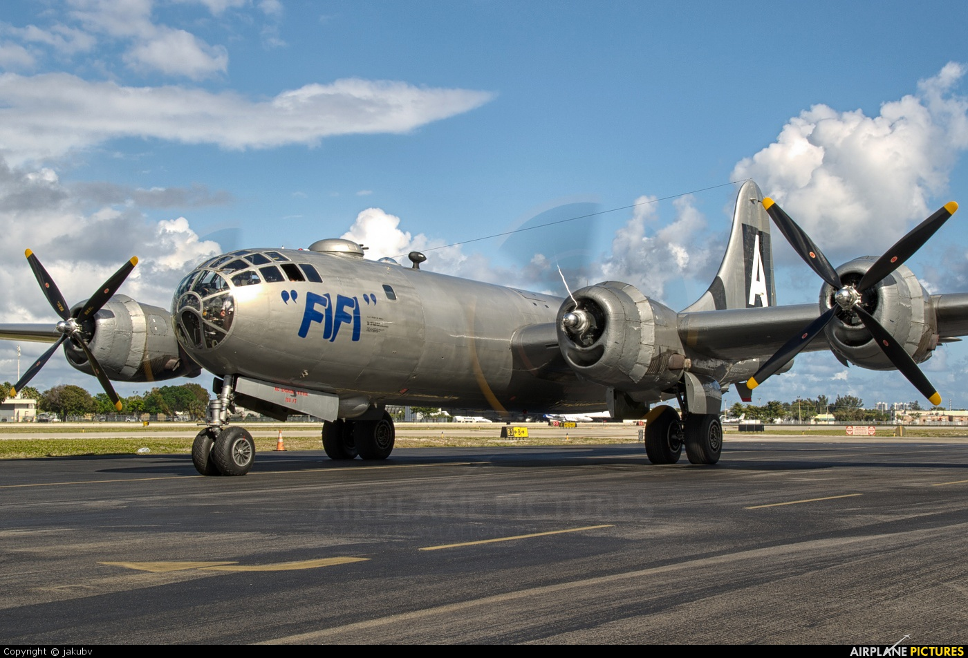 American Airpower Heritage Museum (CAF) N529B aircraft at Fort Lauderdale Executive