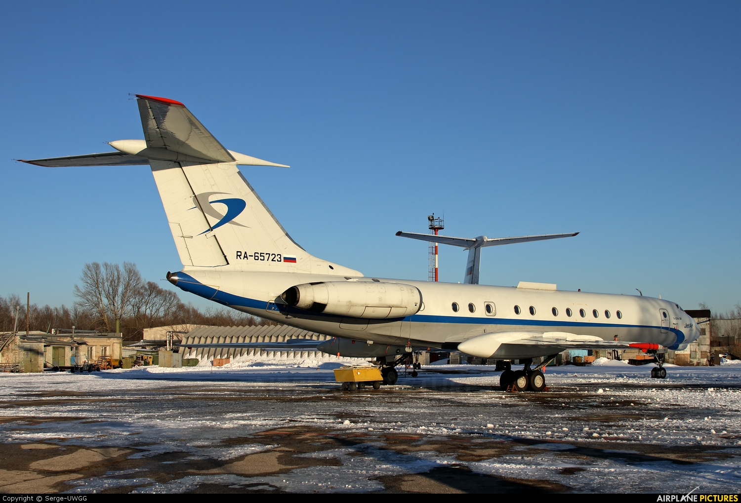 Jet Air Group (Russia) RA-65723 aircraft at Nizhniy Novgorod