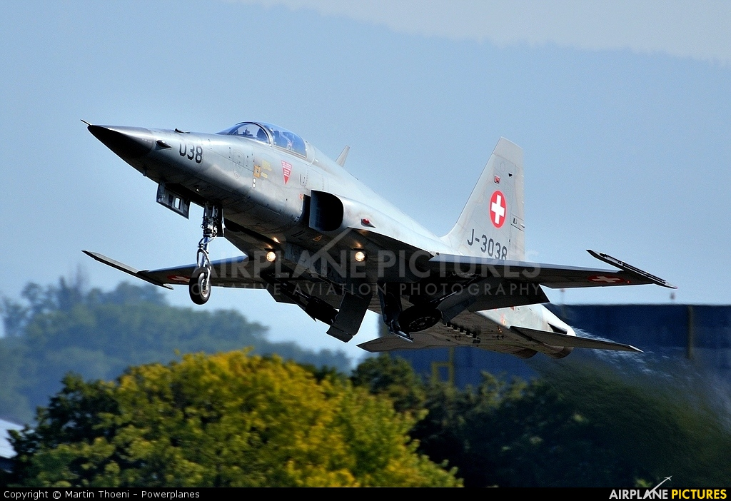 Switzerland - Air Force J-3038 aircraft at Payerne