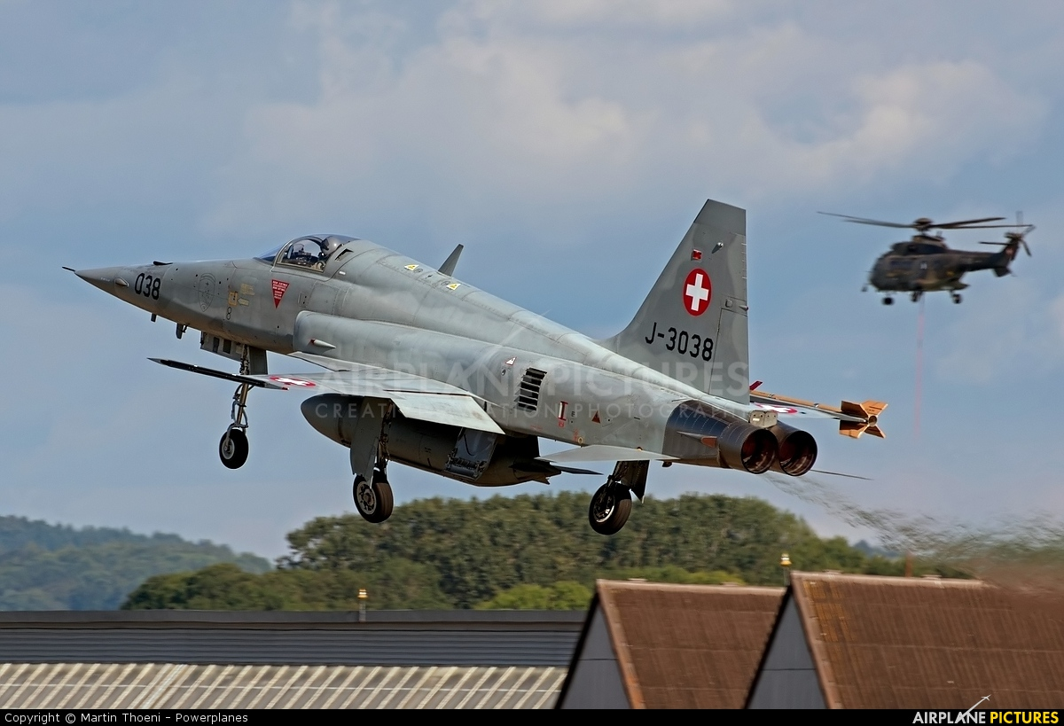 Switzerland - Air Force J-3038 aircraft at Payerne