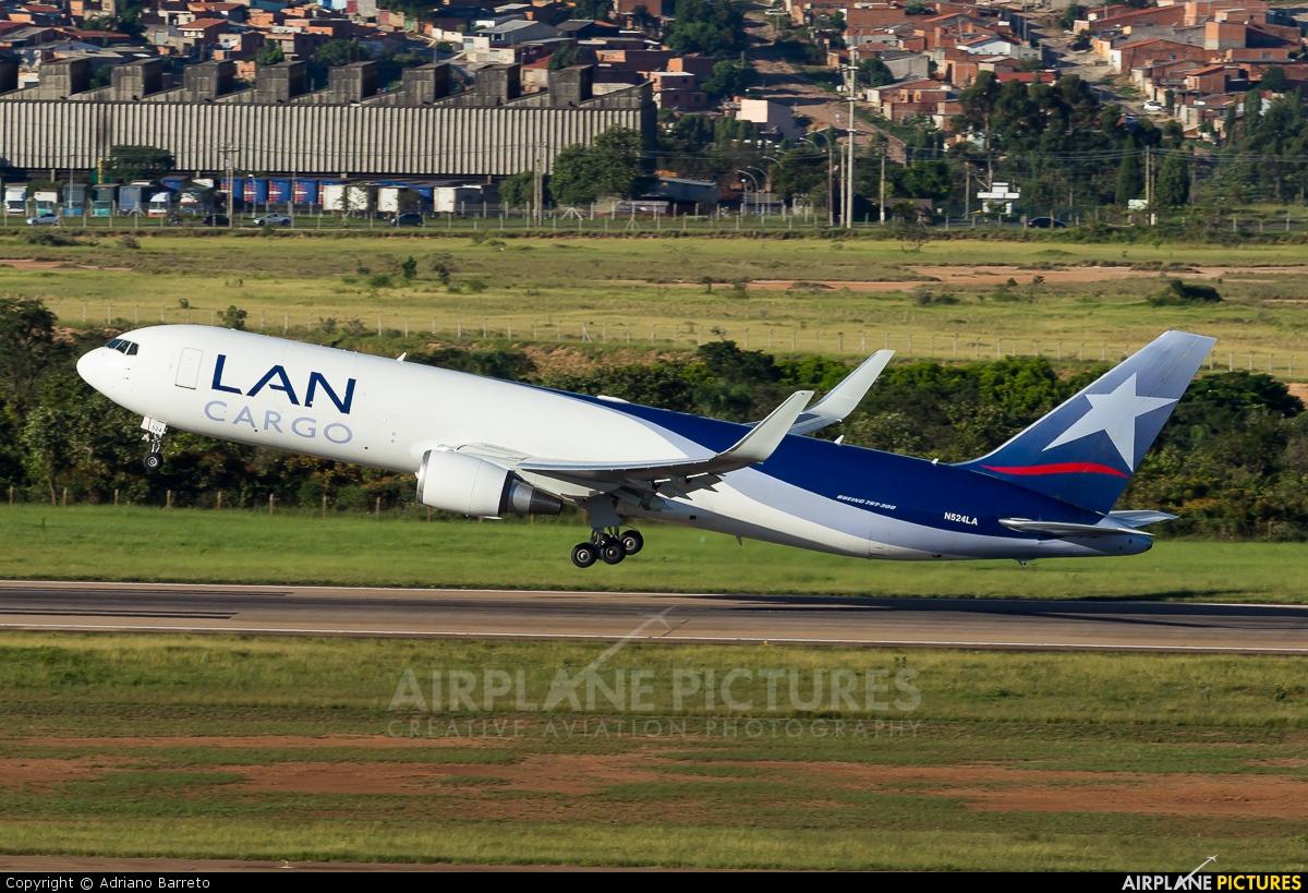 LAN Cargo N524LA aircraft at Campinas - Viracopos Intl