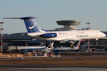 YK-AYE - Syrian Air Tupolev Tu-134A