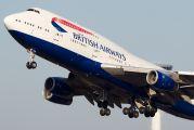 G-CIVW - British Airways Boeing 747-400 aircraft