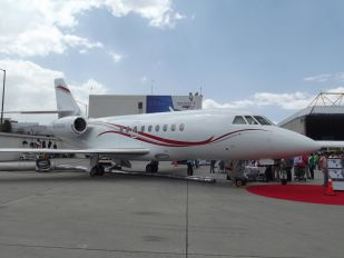 N2000A - Private Dassault Falcon 2000 DX, EX