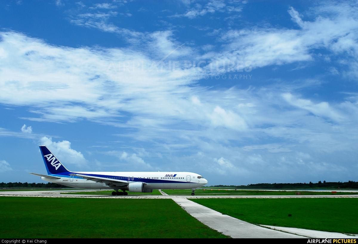 ANA - All Nippon Airways JA8287 aircraft at Shimojishima