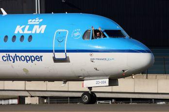 PH-KZD - KLM Cityhopper Fokker 70