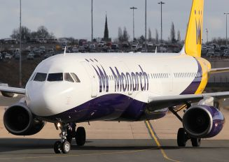 G-OJEG - Monarch Airlines Airbus A321